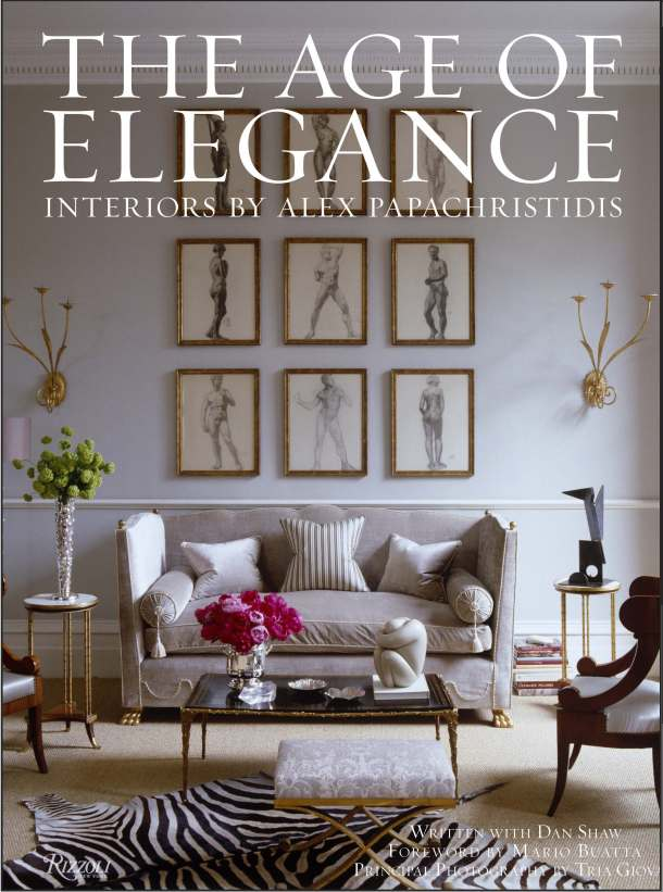 THE AGE OF ELEGANCE – ALEX PAPACHRISTIDIS BOOK SIGNING